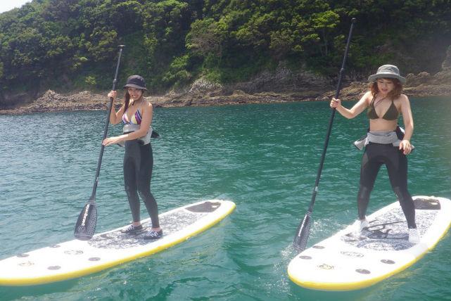 【静岡・SUP】SUP+サーフィンスクール!魅力満載のプレミアム体験プラン
