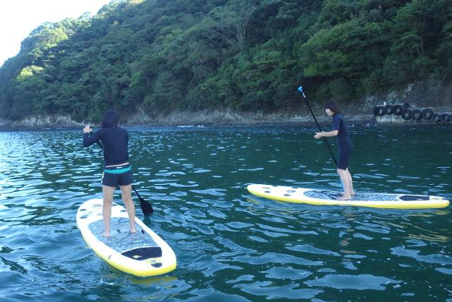 【静岡・SUP】まずは気軽にチャレンジ!初心者歓迎のSUP体験・1時間プラン