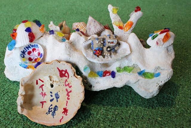 【沖縄・シーサークラフト】沖縄の思い出を閉じ込めた、シーサーオブジェを作ろう