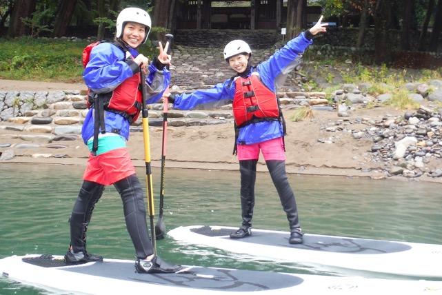 【岐阜・SUP・初級半日】 長良川でSUP体験!流れがなく安心のビギナーコース