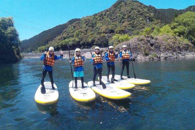 【岐阜・SUP・半日】長良川でSUP体験!流れがなく安心の体験コース