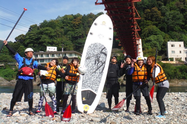 【岐阜・SUP・初級1日】昼食付!長良川をSUPでスイスイ!一気に上達できる1日コース
