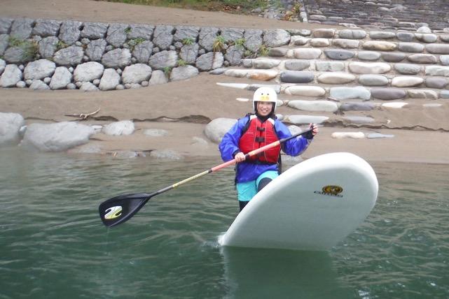 【岐阜・SUP・中級1日】昼食付!長良川でたっぷり水上散歩。経験者向けコース