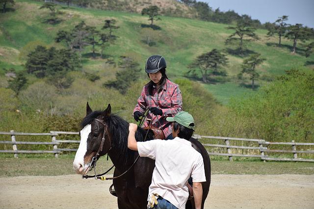 【岩手県一関市・乗馬レッスン】風の心地いい高原!気軽に試せる乗馬レッスン