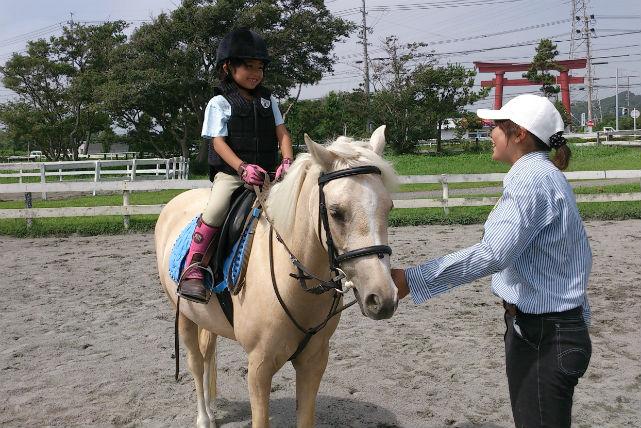 【静岡・20分・乗馬体験】体験乗馬1回コースで、癒しの休日を過ごそう