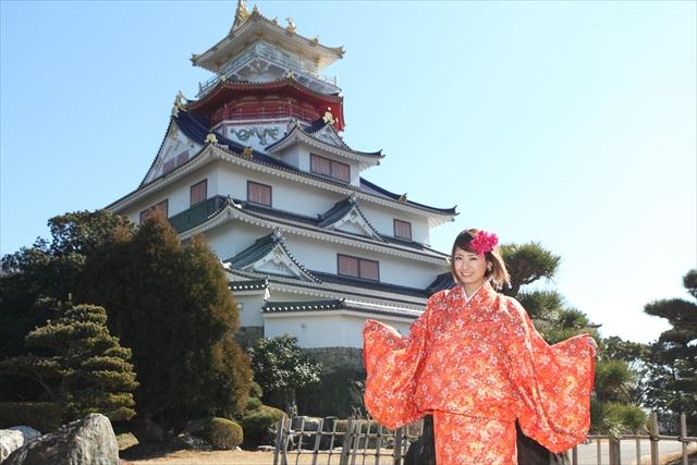 【三重・コスプレ体験】忍者・町人・お姫さま!安土桃山時代に戻って村内を散策!