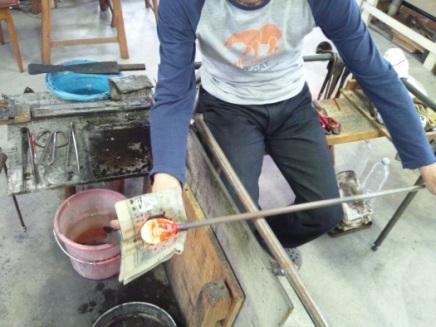 【福山市内・吹きガラス体験】作る楽しさを味わえる!個性を活かしたオリジナルガラス作り