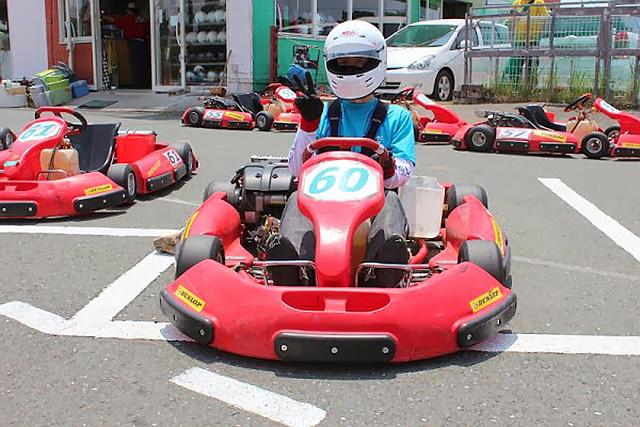 【静岡県浜松・レンタルカート・5周】気分爽快!手軽にモータースポーツを楽しもう