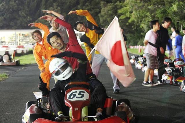 【静岡県浜松・レンタルカート・レース15周】4名様からOK!熱戦を繰り広げよう
