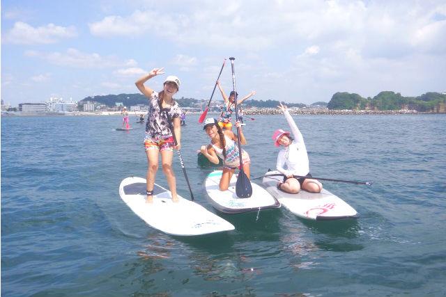 【江ノ島・SUP】新感覚のマリンスポーツ!SUPを江ノ島で体験しよう!