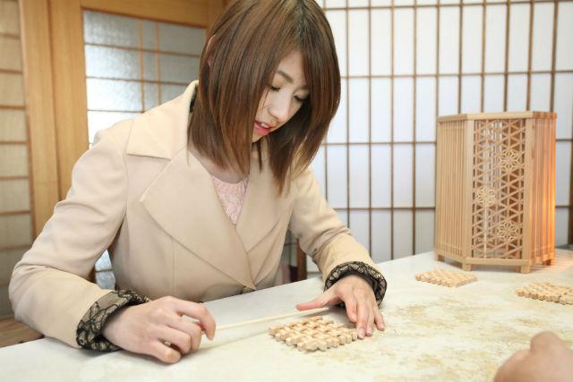 【三重県伊賀市・ 木工教室】専用キットで簡単!組子コースターが作れる木工体験