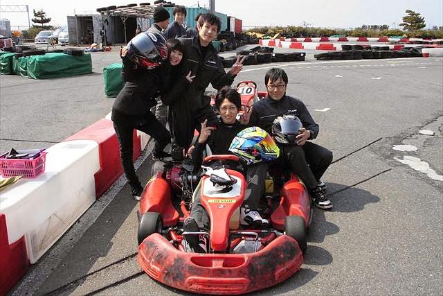 【大阪市此花区・レンタルカート・レース15周】本格的なレースを気軽に体験できます!