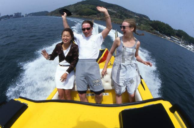 【静岡・浜名湖・スピードボート】赤い橋が印象的!サンビーチ&東名浜名湖橋プラン