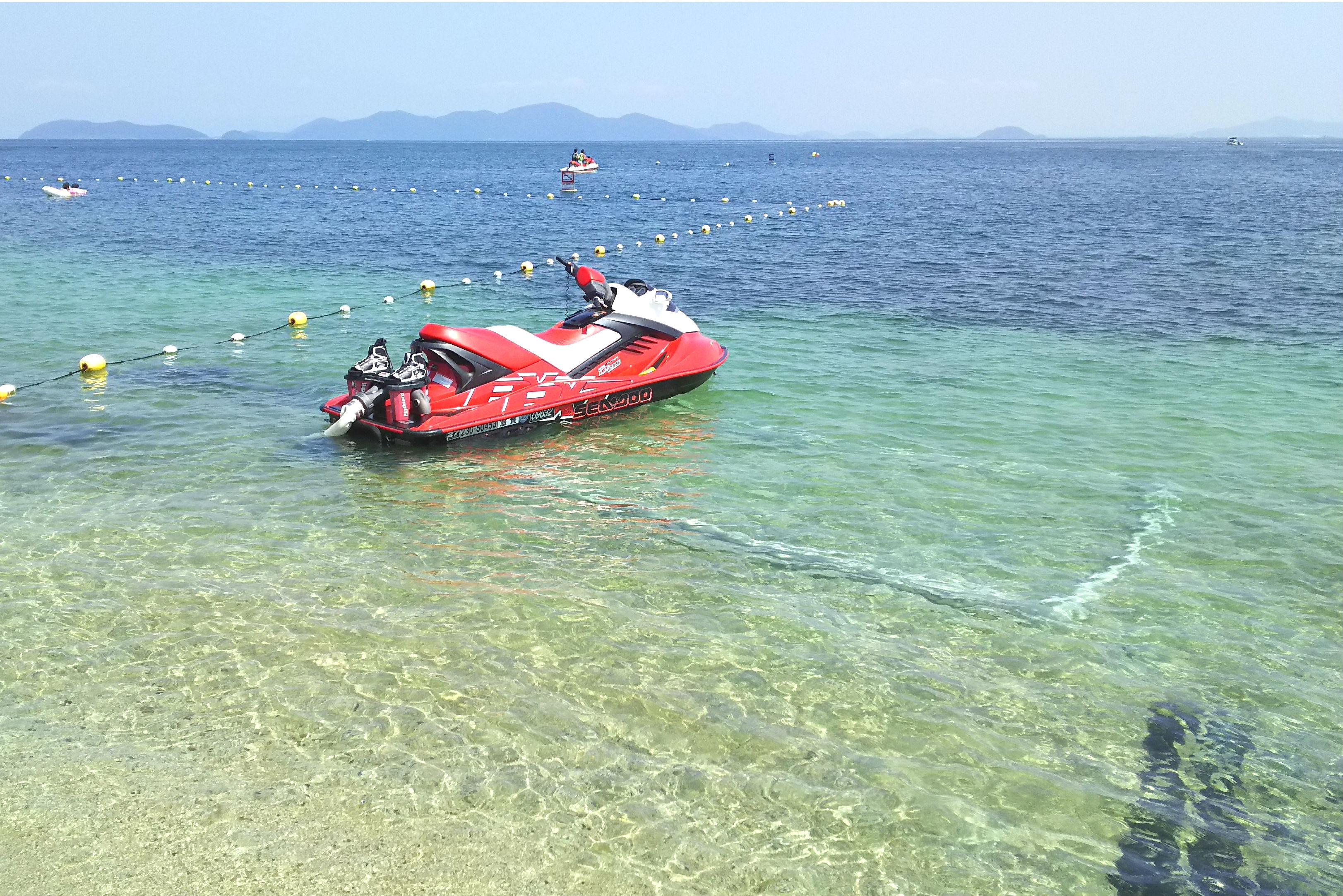 【滋賀・琵琶湖】ベタベタしない!透明度最高の完全淡水!フライボード体験