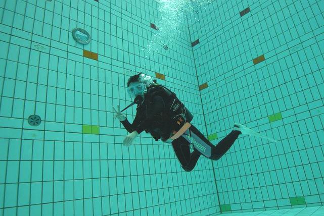 【埼玉・体験ダイビング】手ぶらでOK!無料送迎あり!体験ダイビングプールプラン