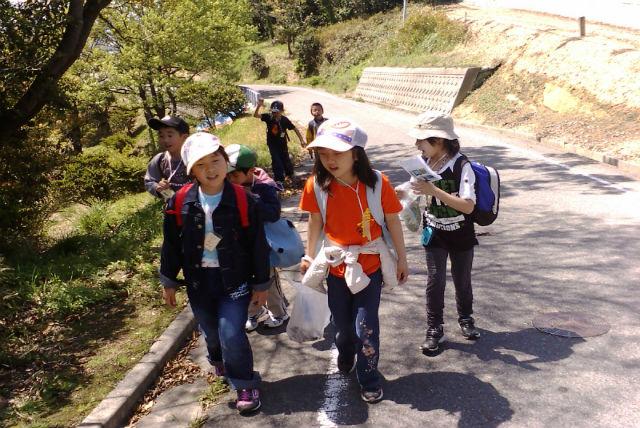 【岡山・自然体験】前島の自然と歴史をめぐるウォークラリー&船上遊覧とバイキング