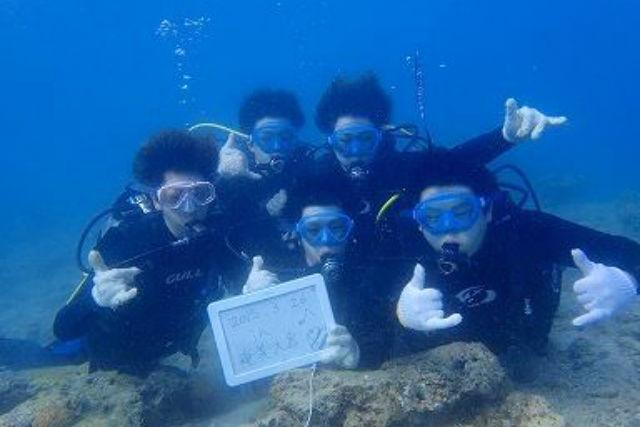 【奄美大島・体験ダイビング】初心者向けの少人数制プランで、安心して海中デビュー!