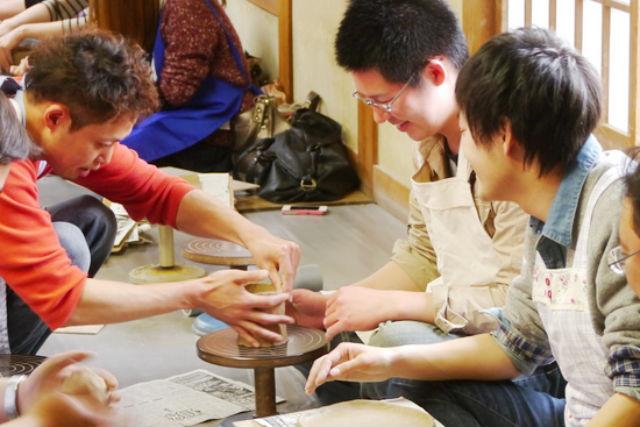 【山形・陶芸体験】粘土1kg!千歳山産の陶石を使った平清水焼きを体験