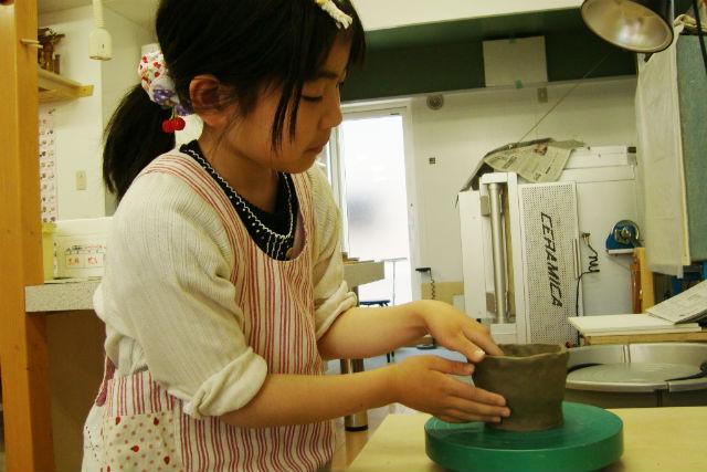 【北海道札幌市・陶芸体験】粘土500グラムで好きなもの、欲しいものを作る陶芸体験!
