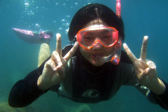 【静岡・西伊豆・シュノーケリング】気軽に海を楽しもう!伊豆屈指のビーチリゾート『黄金崎公園』でシュノーケリング体験!