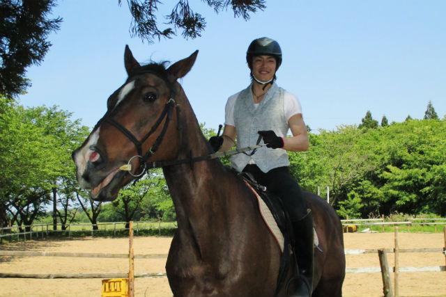 【福井県あわら市・乗馬】馬に乗って湖までお散歩!大人気の外乗りプラン!