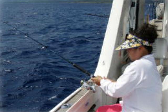 【石垣島・釣り体験】近海深海コース!深海に潜む、高級魚を狙います!