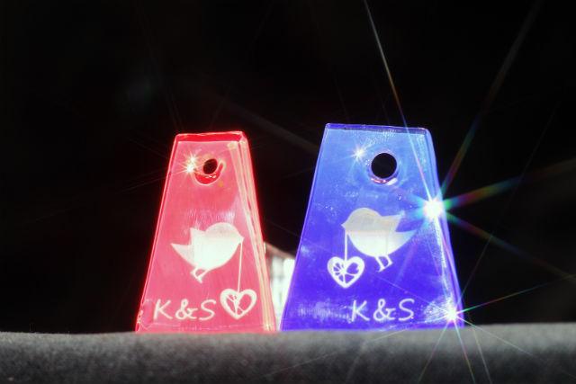 【香川・サンドブラスト】ガラスアクセサリー・好みの形&デザインで彫ろう!(2個制作)
