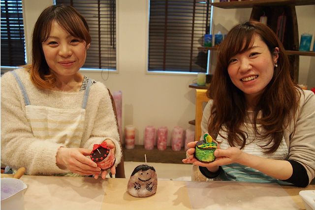 【徳島・キャンドル作り】可愛くて美味しそう!アイスケーキアートキャンドル作り