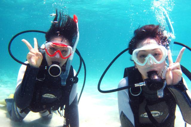 【石垣島・体験ダイビング・1日】幻の島へ上陸!もっと海を楽しめる!充実のボートツアー!(2ダイブ)