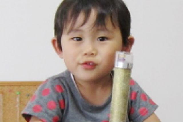 【鳥取・ガラス細工】幼稚園児から参加可能!色ガラスを使った万華鏡作り