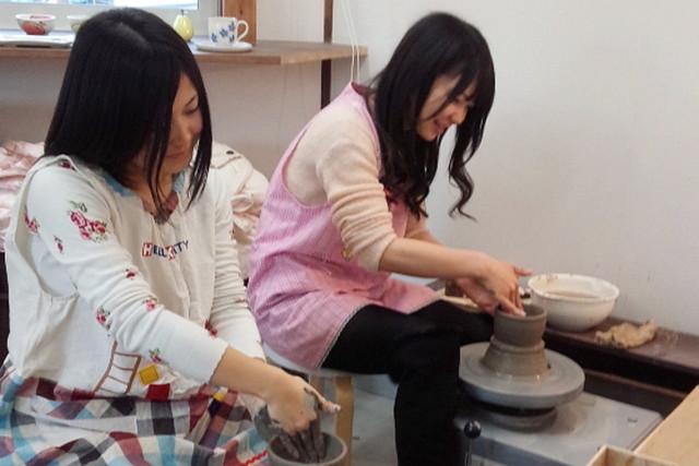 【中津市・陶芸体験】お手軽に電動ろくろ体験。キレイな器に仕上がります