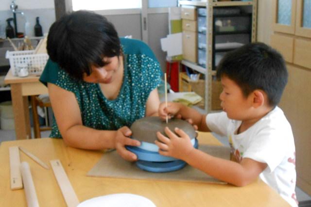 【中津市・陶芸体験】未就学のお子さまと一緒に楽しめます。おやこdeとうげい教室