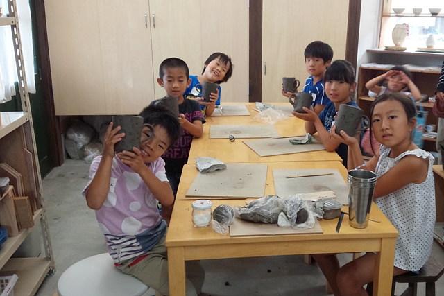【中津市・陶芸体験】小学生専用の体験!夏のこども陶芸教室