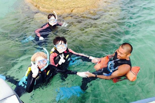 【沖縄県石垣市・シュノーケル】レンタル3点セット付き!白保の海を満喫しよう