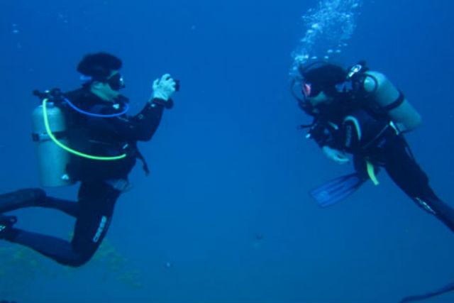【香川県・体験ダイビング】まるで南国!青く澄んだ海で体験ダイビング