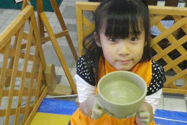 【群馬県川場村・陶芸教室】粘土2kgで、大物を作れます!60分・たっぷりコース