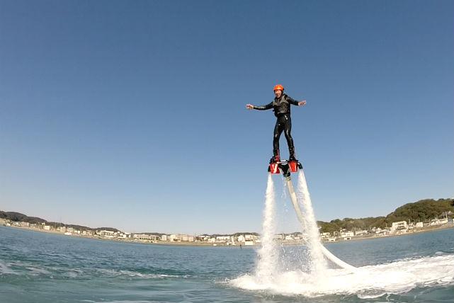 【鎌倉・フライボード】自由自在に空中を飛び回ろう!レベルアッププラン