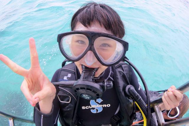 【石垣島・体験ダイビング】初めてでも安心!サンゴと熱帯魚の海で半日ダイビング体験