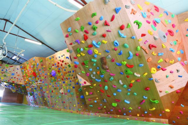 【栃木県・大田原市・ボルダリング】経験者向け!リーズナブルに登れる、ビジター1日コース