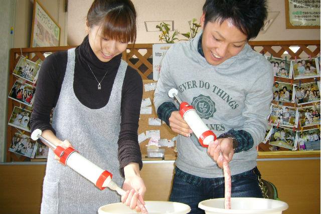 【愛知・料理体験】みんなでワイワイ楽しもう!ソーセージ作り2キロコース