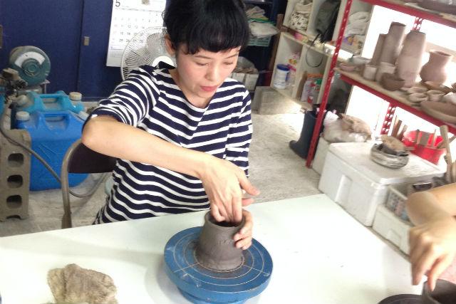 【熊本・陶芸】2時間たっぷり作品づくり。初心者歓迎の陶芸体験!