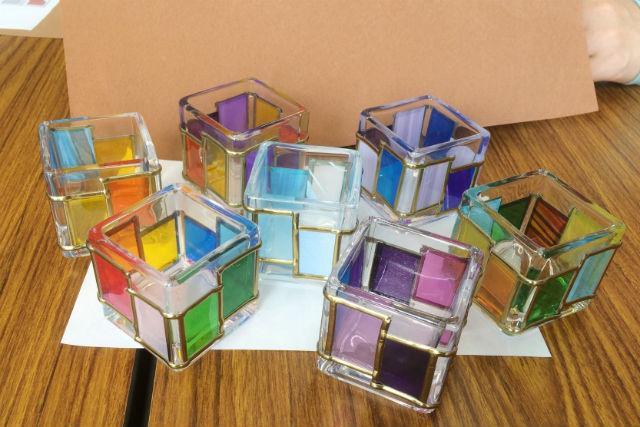 【岡山・倉敷・グラスアート】自由にデザインできる!可愛いガラスキューブを作ろう