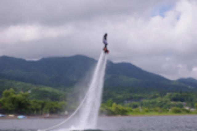 【山中湖・フライボード(40分)】フライボードをお得にもっと満喫プラン!