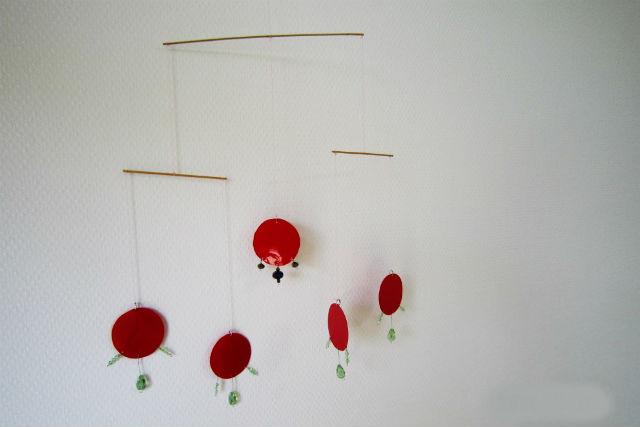 【鳥取・モビール】アクリル板を好きな形に切り取る!壁かけで楽しむモビール作り