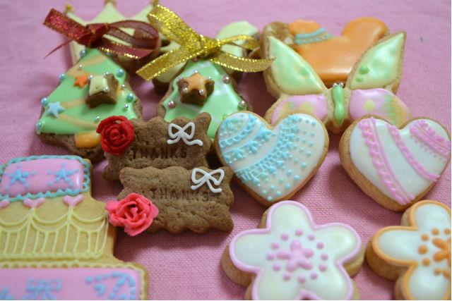 【京都・宇治・アイシングクッキー】出張レッスン!どこでも手軽にアイシングクッキー作りを楽しめる
