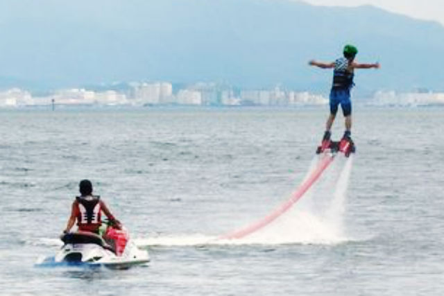 【福岡県能古島・フライボード】福岡初上陸!フライボード初回体験コース