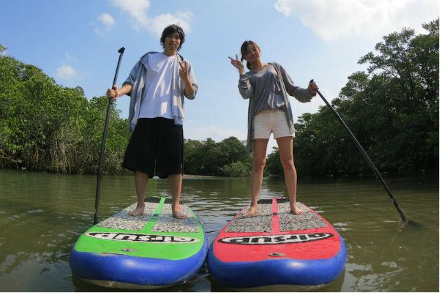 【石垣島・SUP】専用ボードでジャングルクルーズ!SUPツアーで自然を満喫!