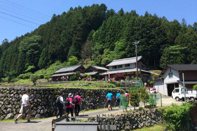 【三重県美杉町・ノルディックウォーキング】自然を楽しみながら、ノルディックウォーキング!