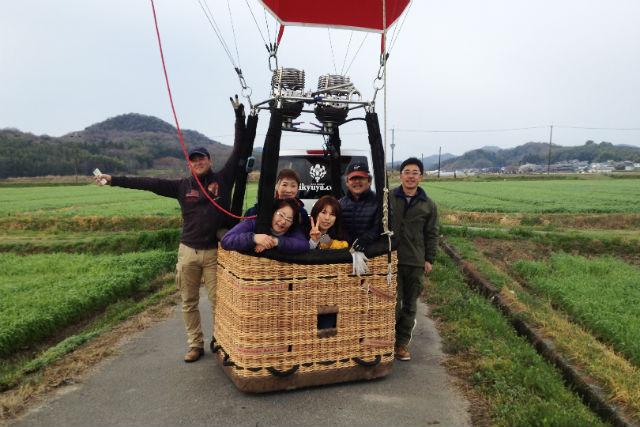 【兵庫・播磨・熱気球搭乗体験】播磨の自然を空から眺める!45分のフリーフライト