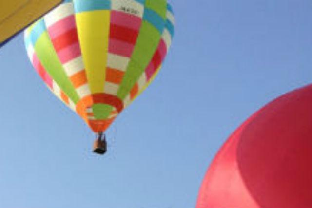【滋賀・近江八幡・熱気球搭乗体験】プライベートフリーフライトで大パノラマを満喫!